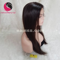 Straight 2x4 Lace Closure Wigs 22inches 130% Density