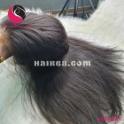 Straight 4x4 lace closure wigs 14 inches 180% Density