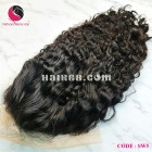 Water wavy 4x4 lace closure wigs 14 inches 180% Density