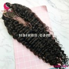 Deep Wavy 4x4 lace closure wigs 24 inches 180% Density