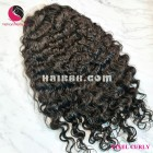 Super curly 4x4 lace closure wigs 10 inches 180% Density