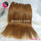 12 inch Best Black Hair Weave Extensions -  Double Straight