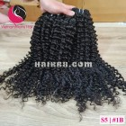 20 inch Curly Weave Hair - Vietnam Hair Extensions Single Drawn