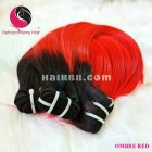26 inch - Weave Ombre Hair Extensions for Black Hair - Straight Single