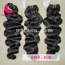 14 inch Wavy Weave Hair Products - Steam Wavy