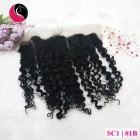 8 inch Curly Weave Hair Extensions – Double Drawn