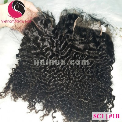 18 inch Curly Weave Hair - Vietnam Hair Extensions Double Drawn