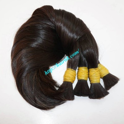 28 inch Buy Virgin Hair in Bulk - Straight Single