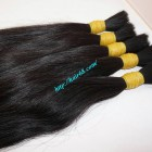 10 inch Human Hair Extensions Online - Thick Straight Double