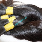 8 inch 100 Virgin Human Hair Extensions - Thick Straight Double