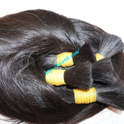 20 inch 100 Human Hair Extensions - Thick Straight Double