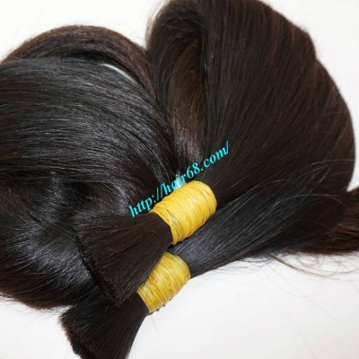 28 inch Best Human Hair Extensions - Thick Straight Double
