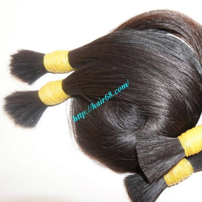 30 inch Natural Hair Extensions - Thick Straight Double