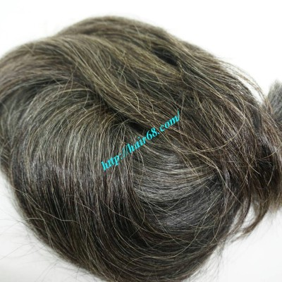 24 inch Dark Grey Hair Extensions - Straight Double