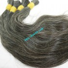 14 inch Grey Hair Bundles - Straight Single