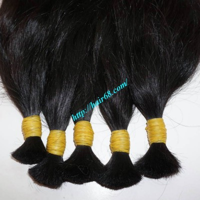 16 inch Virgin Hair Extensions Ponytail - Wavy Single