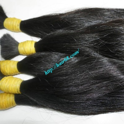 18 inch Cheap Virgin Hair Extensions - Wavy Single