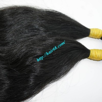 10 inch Remi Hair Extensions - Thick Wavy Single