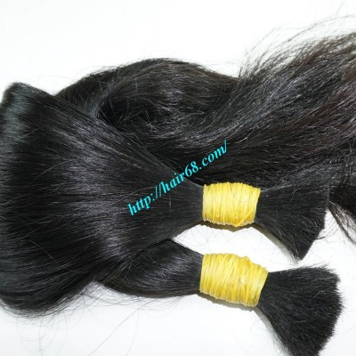 12 inch Natural Human Hair Extensions - Thick Wavy Single
