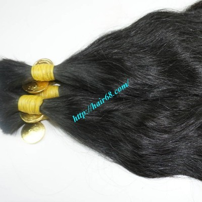 28 inch Thick Hair Extensions - Wavy Double