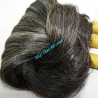20 inch Grey Hair Extensions - Wavy Double