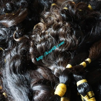 10 inch Cheap Human Hair Bundles  –Wavy