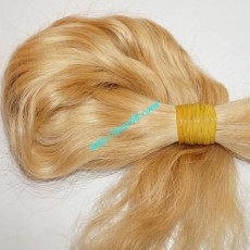12 inch Straight Short Blonde Hair Extensions