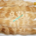 18 inch Blonde Hair Extensions Cheap - Wavy