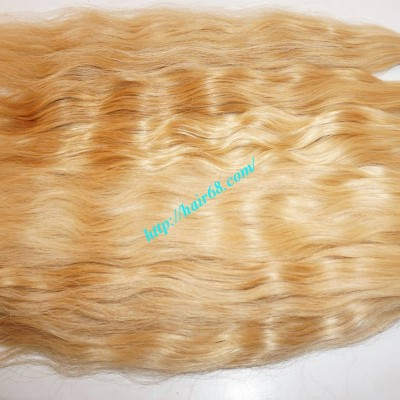 28inch  Long blonde Hair Extensions - Wavy