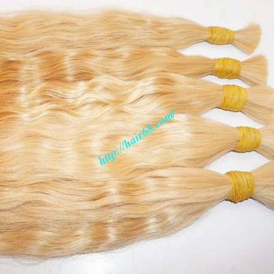 30 inch Blonde Hair Extensions Vietnamese Hair