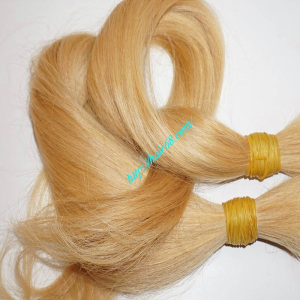 10 inch cheap blonde human hair extensions 100 remy hair