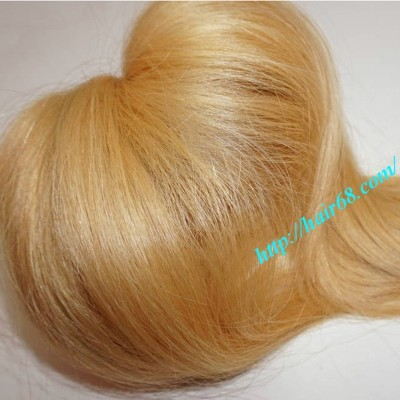 12 inch Cheap Blonde Human Hair Extensions - Straight
