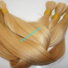 22 inch Blonde Human Hair Extensions Cheap - Straight