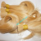 26 inch Blonde Human Hair Extensions Cheap - Straight