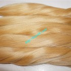 30 inch Blonde Human Hair Extensions Cheap - Straight