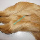 28 inch Blonde Human Hair Straight Remy Hair