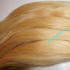 30 inch Blonde Human Hair Straight Remy Hair