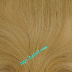 10 inch (25cm) Straight Cheap Blond Weave Hair Extensions