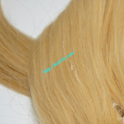 12inch Cheap Blonde Weave Hair Extensions - Straight