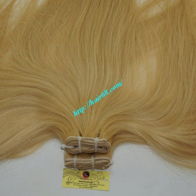 20inch Blonde Weave Hairstyles - Straight