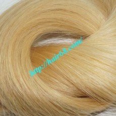 14 inch Straight Weave Blonde Human Hair Extensions