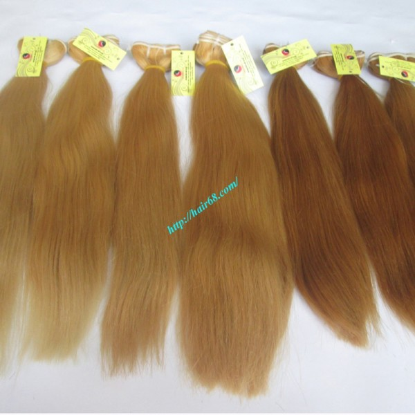 32 Inch Cheap Blonde Weave Hair Extensions Straight
