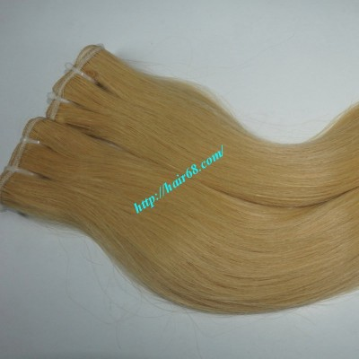 14 inch Blonde Weave Hair Straight Remy Hair