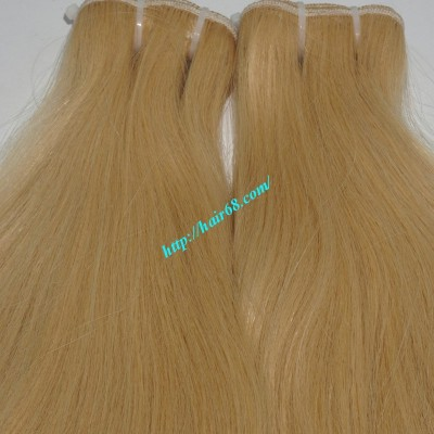 18 inch Blonde Weave Hair Straight Remy Hair