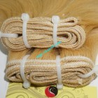 8 inch Cheap Blonde Human Hair Weave - Natural Wavy