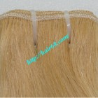 22 inch Cheap Blonde Human Hair Weave - Natural Wavy