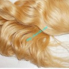 32inch Blonde Human Hair Weave - Natural Wavy