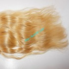 28 inch Blonde Wavy Remy Hair Extensions