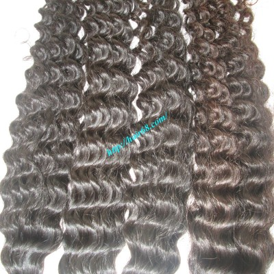 10 inch Curly Hair Extensions - Double