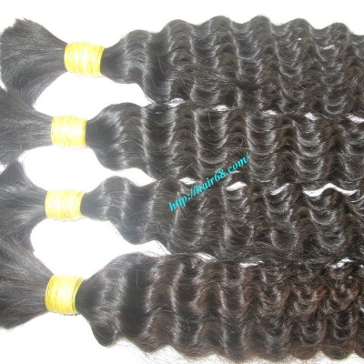 28 inch Curly Human Hair Extensions - Double